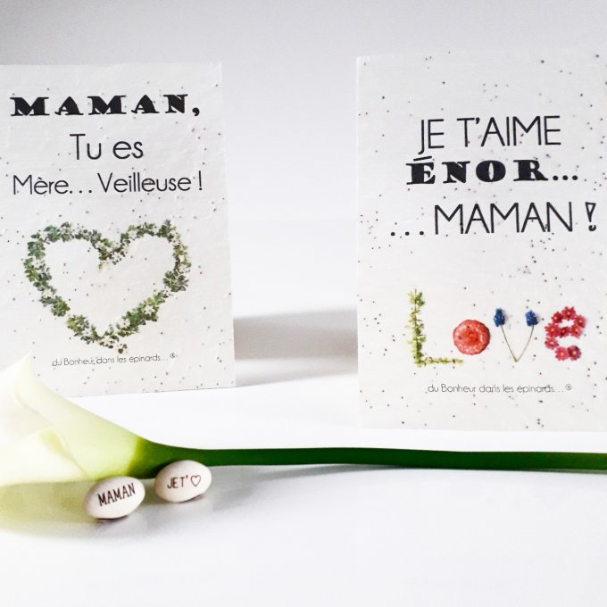 DUO MAGIQUE GRAINE A PLANTER + CARTE A PLANTER