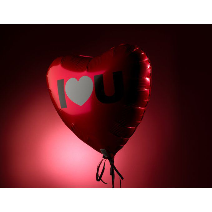 BALLON LOVE + CARTE D'AMOUR